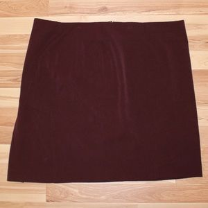 Lane Bryant purple skirt